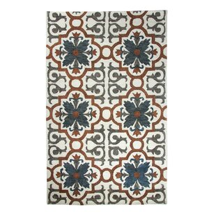 Great choice Casual Rust/Blue Hand Woven Area Rug By Dynamic Rugs