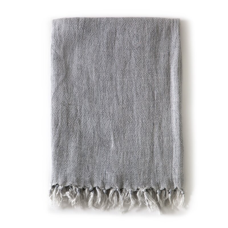 Montauk Linen Blanket