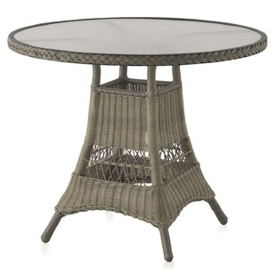 Stroman Aluminium And Synthetic Fibre Bistro Table By Sol 72 Outdoor