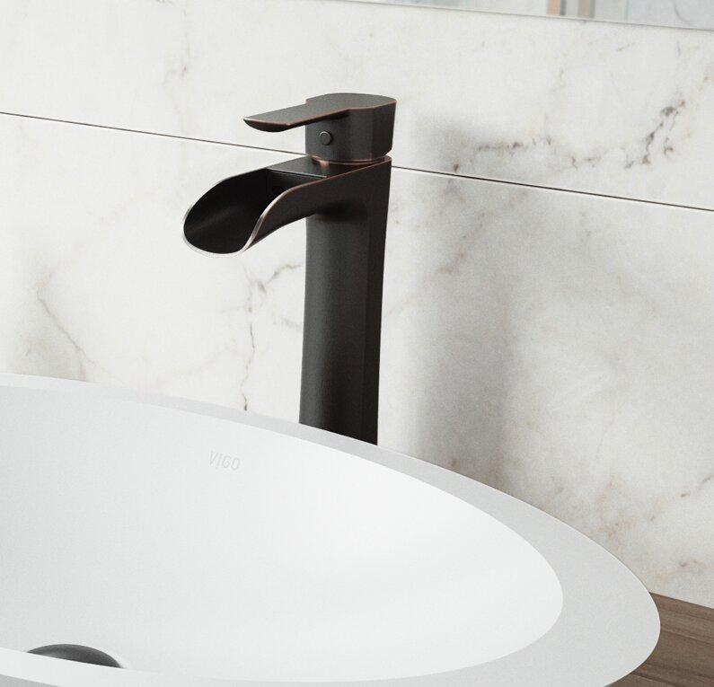 Niko Single Hole Bathroom Faucet
