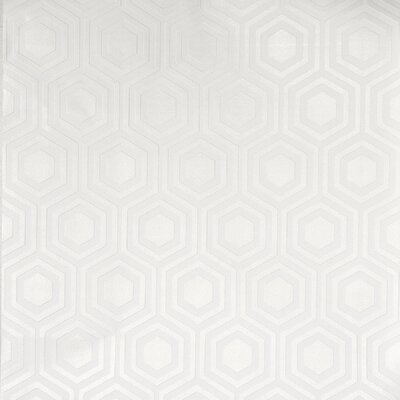 "Ebern Designs Coburg Paintable 33' x 20.5"" Geometric Wallpaper Roll"