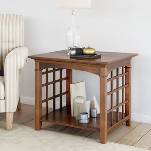 Peaslee End Table by Alcott Hi..