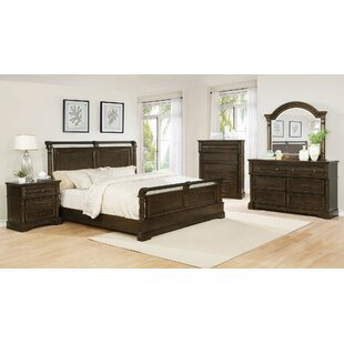 Steffens 6 Drawer Double Dresser with Mirror