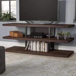 Buy luxury Elroy TV Stand for TVs up to 70 by Wade Logan Reviews (2019) & Buyer's Guide