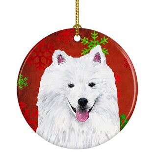 American Eskimo Ornament Wayfair