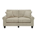 "Buxton 61"" Rolled Arm Loveseat"