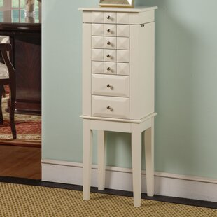 Reviews Bothwell Jewelry Armoire with Mirror By Brayden Studio