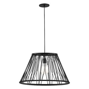 Wrought Studio Grube 1-Light Cone Pendant