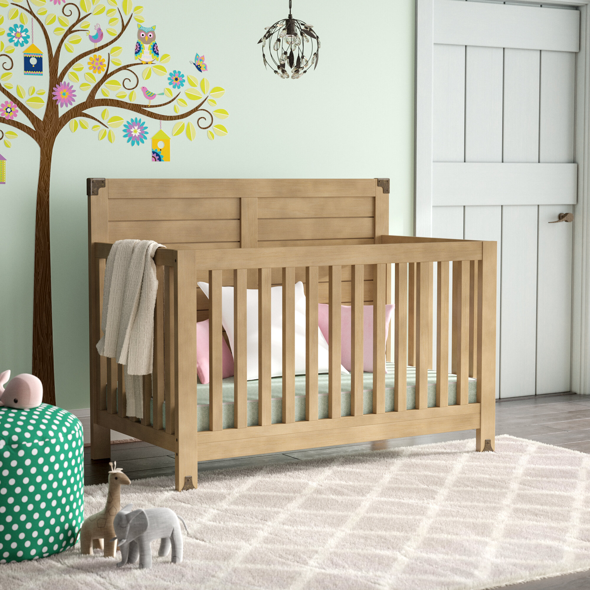 93039eaa50 Mack   Milo Tuckerton 4-in-1 Convertible Crib   Reviews