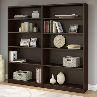 Affordable Morrell Standard Bookcase (Set of 2) by Andover Mills