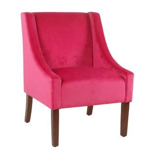 Dietrich Fabric Upholstered Swooped Side Chair by Rosdorf Park