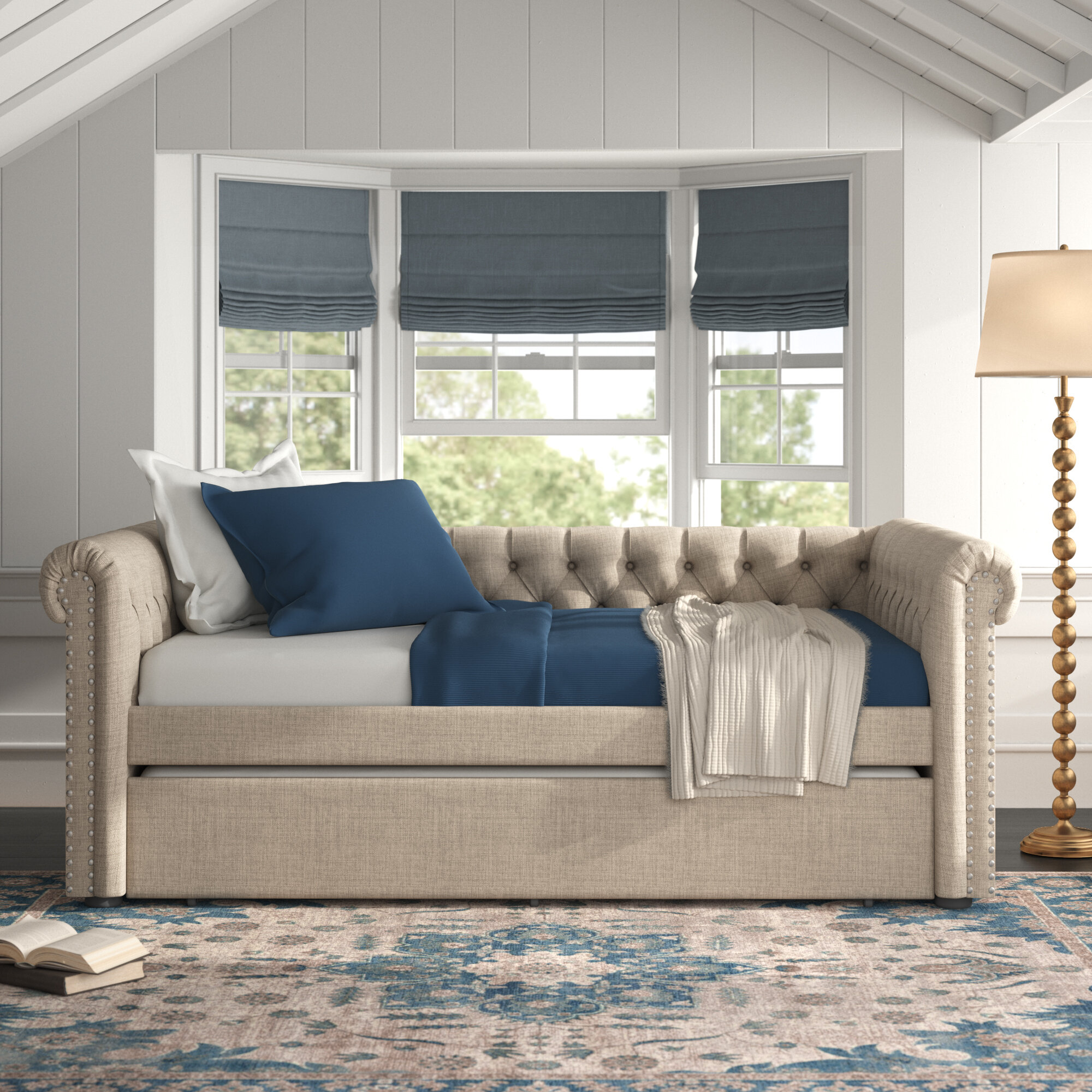 Palmore Full Daybed With Trundle Birch Lane