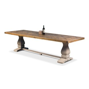 The Frisco Solid Wood Dining Table by Sarreid Ltd No Copoun