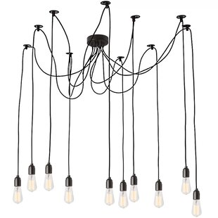 Couture 10-Light Cluster Pendant by Williston Forge