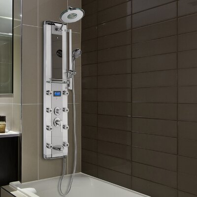 AKDY LED Diverter/Dual function Shower Panel - Includes Rough-In Valve