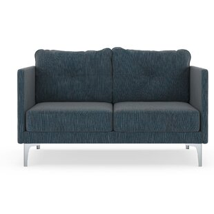 Orren Ellis Schick Twilled Weave Loveseat