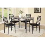 Culloden 5 Piece Dining Set by Winston Porter