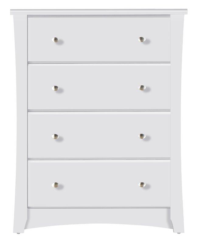 crescent 4 drawer chest