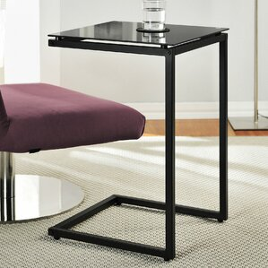 Bonetti C Shaped End Table by Varick G..
