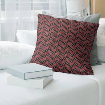 Vesper Lane Lillian August Home Geometric Fretwork Linen Throw Pillow Wayfair