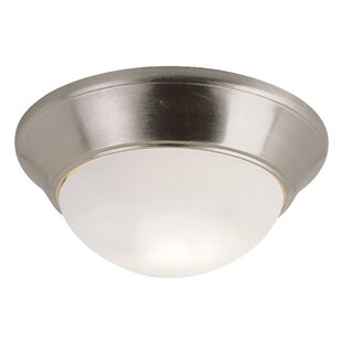 Winston Porter Lauren 1-Light Flush Mount
