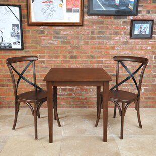 Celia Dining Set With 2 Chairs By Ophelia & Co.