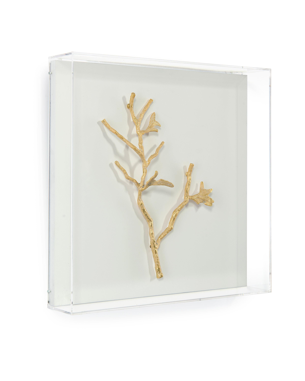 John Richard Gold Branches Iv Wall