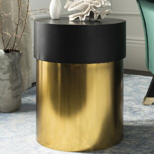 Danberry Side End Table by Everly Quinn