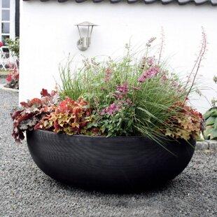 Resin Pot Planter By Crescent Garden