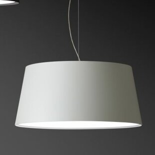 Warm Medium Pendant with Fluorescent by Vibia