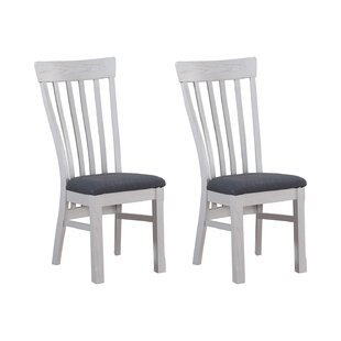 Kings Point Solid Wood Dining Chair (Set Of 2) By Beachcrest Home