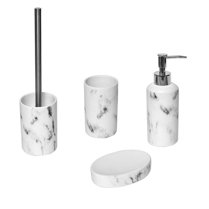 Marble Bathroom Soap Dispenser
