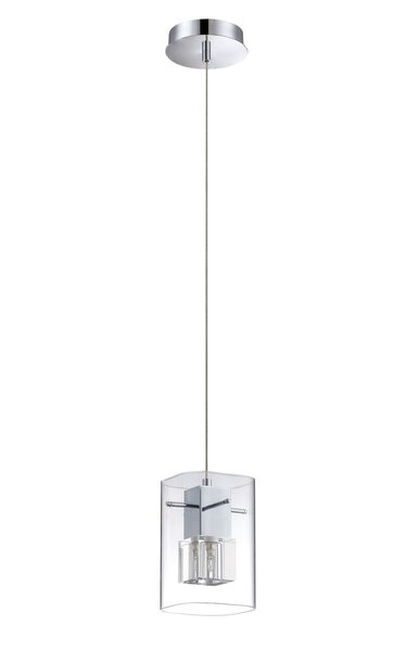 Orren Ellis Berges 1 Light Single Rectangle Pendant Wayfair