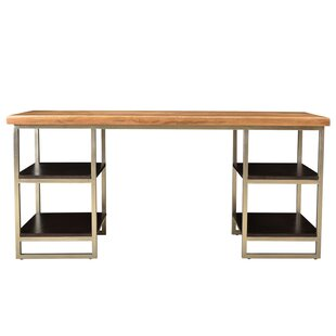 Brundidge 4 Shelve Writing Desk