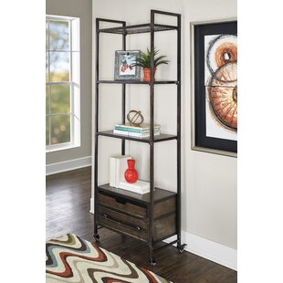 Preesall Metal Standard Bookcase Williston Forge
