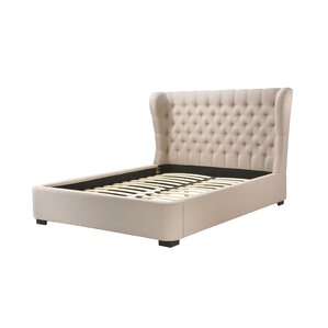 Upholstered Platform Bed by LuXeo
