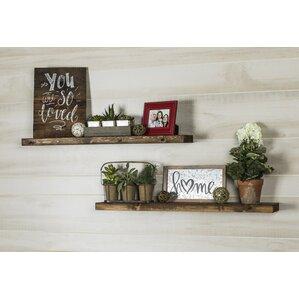 Living Room Wall & Display Shelves You\'ll Love | Wayfair