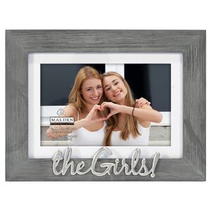 Girls Distress Picture Frame