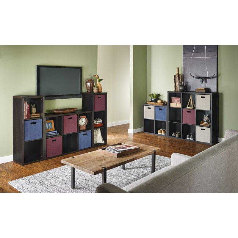 ClosetMaid 6 Cube Decorative Storage Unit Dark Chestnut 76.2 x 34.5 x 111.7cm