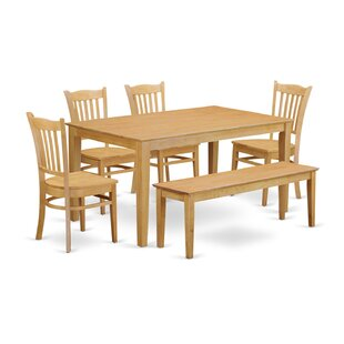 Capri 6 Piece Dining Set