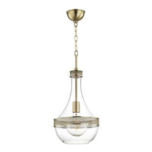 Ivy Bronx Manke 1-Light Geometric Pendant