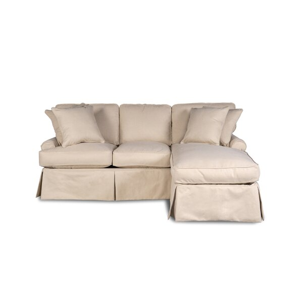 Couch With Chaise Slipcover Wayfair