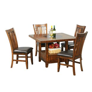 Schueller Extendable Dining Table DarHome Co