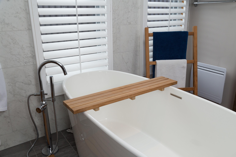 ARB Teak & Specialties Fiji Bath Caddy & Reviews | Wayfair