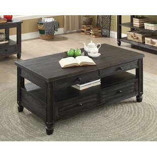 Massimo Lift-Top Coffee Table Alcott Hill