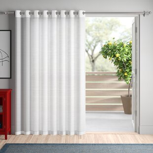 Sheer Door Panel Curtains Wayfair