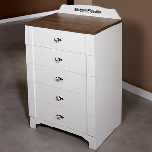 Loomis 5 Drawer Chest By August Grove