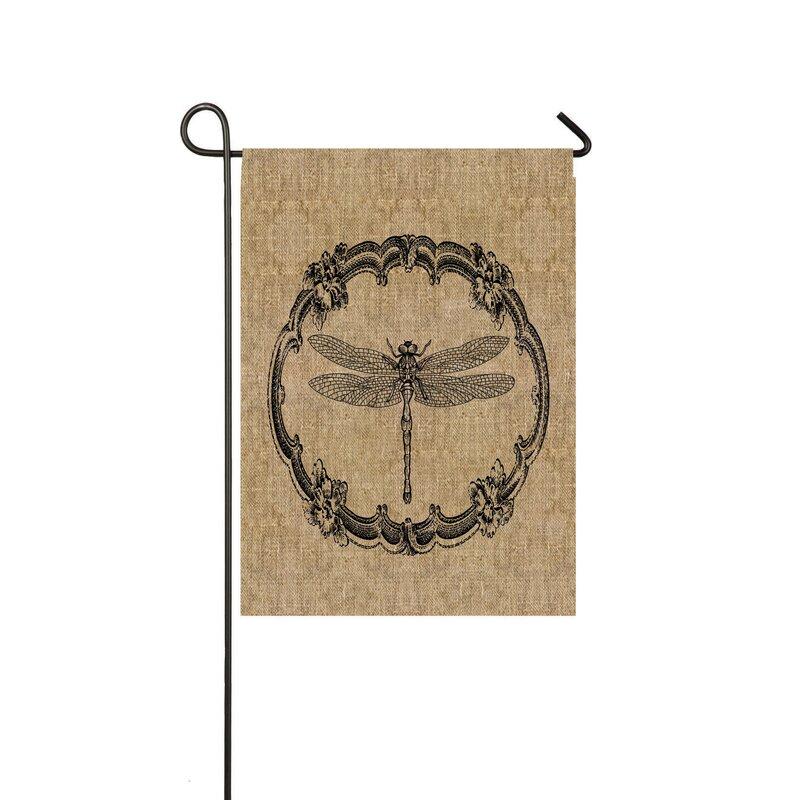 Evergreen Flag & Garden Dragonfly Garden Flag & Reviews ...