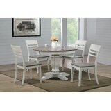 Hermanson 5 Piece Dining Set by Ophelia & Co.