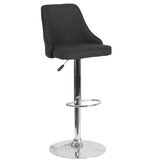 Glencoe Swivel Adjustable Height Stool by Wrought Studio™